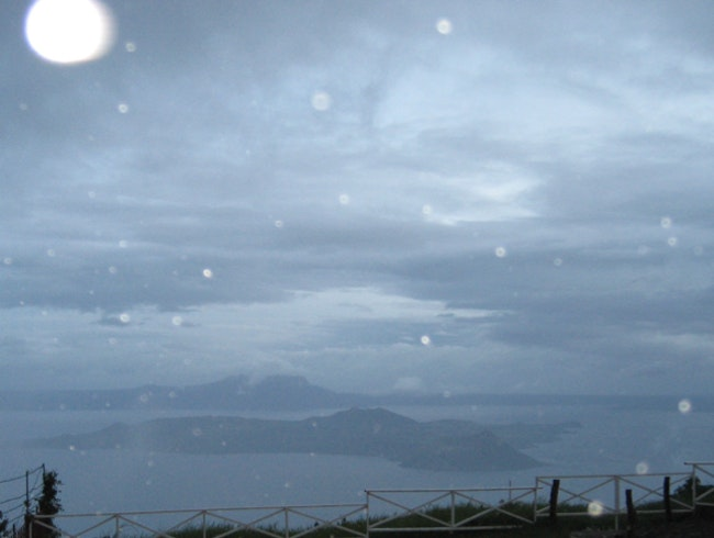 Rain At Taal Lake