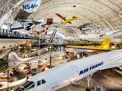 National Air and Space Museum Steven F. Udvar-Hazy Center Chantilly Virginia United States