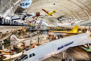 National Air and Space Museum Steven F. Udvar-Hazy Center