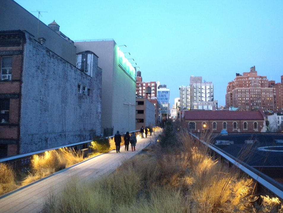 High Line Park  New York New York United States