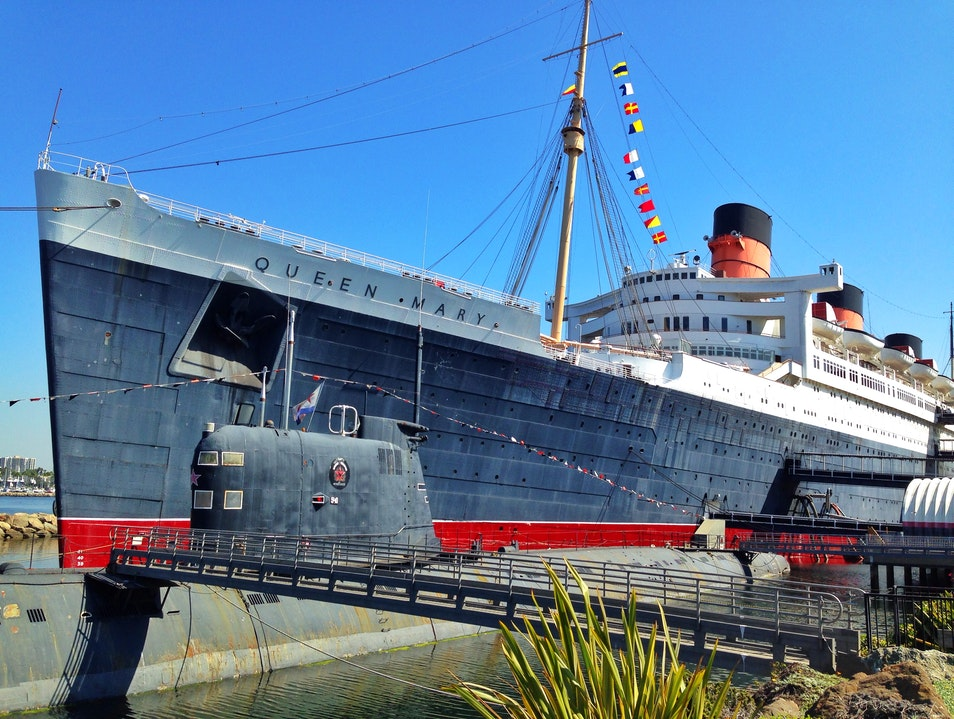 Find Floating History Aboard the Queen Mary Long Beach California United States