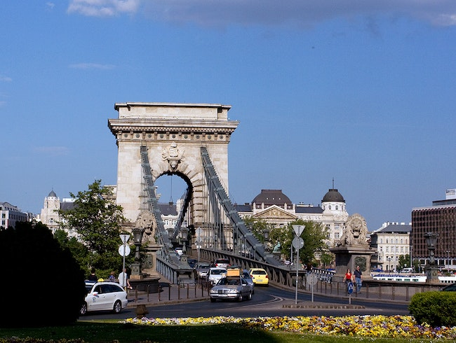 The Széchenyi Chain Bridge