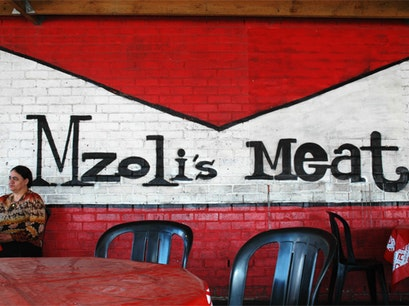 Mzoli's Place Cape Town  South Africa