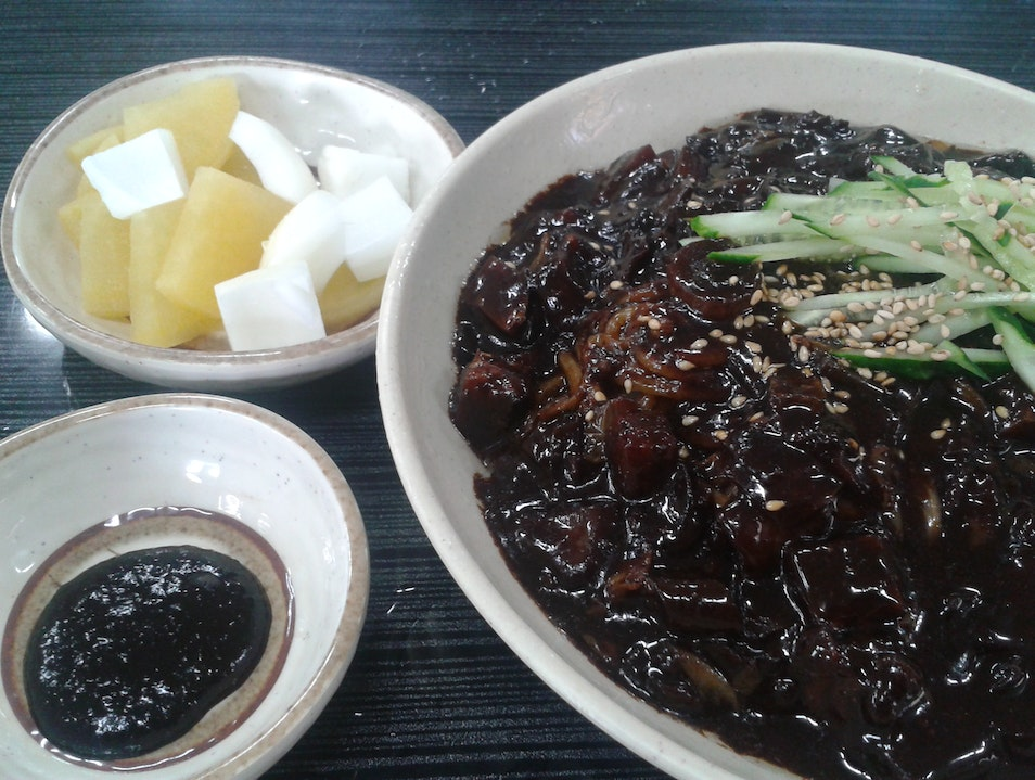 Discovering Chinese food in Korea