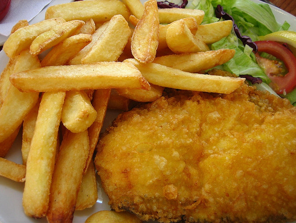 Authentic Fish and Chips