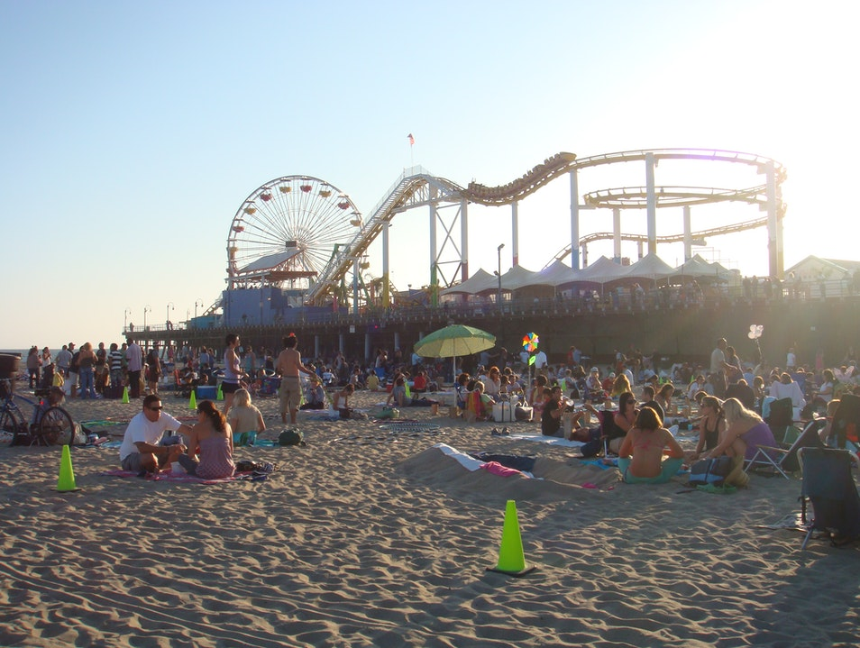 Outdoor Summer Concerts Santa Monica California United States