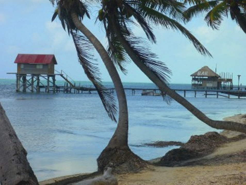 The most chill bar scene in Belize.