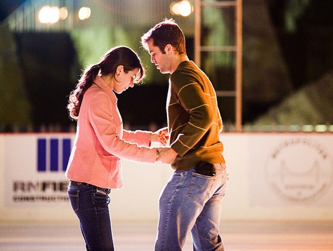 Lace Up Your Skates and Go at Oak Park