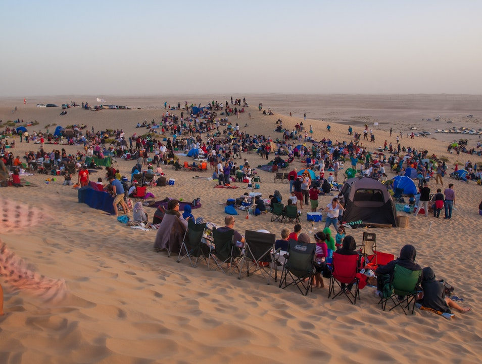 Christmas Carols in the Desert Abu Dhabi  United Arab Emirates