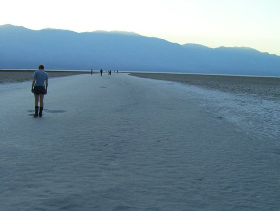 Vehicular exploration of Death Valley