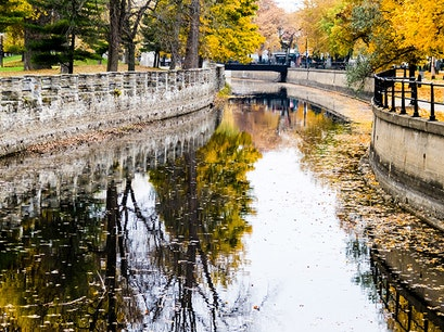 Lachine Canal Montreal  Canada