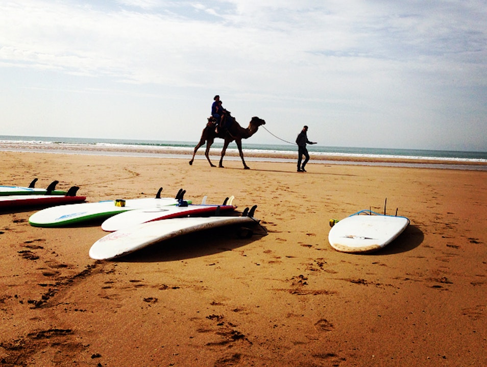 Overcoming Fear and Learning to Surf in Morocco Sidi Kaouki  Morocco