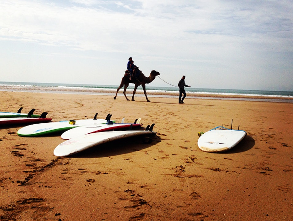 Overcoming Fear and Learning to Surf in Morocco