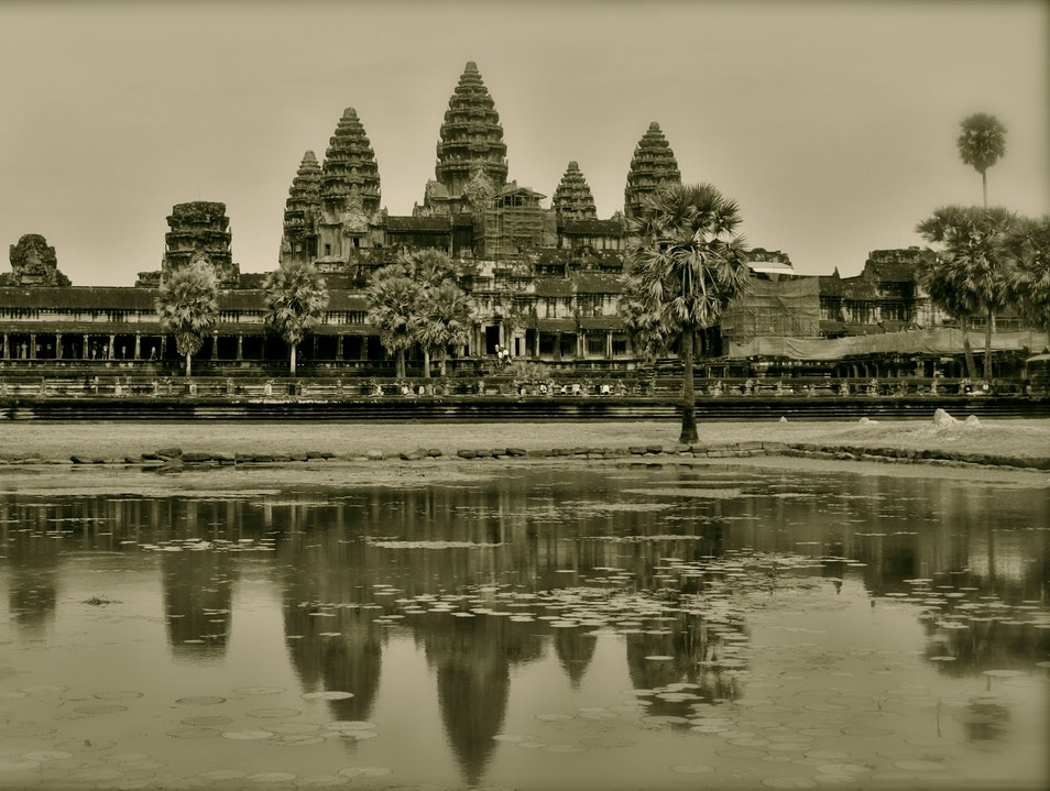 12th-Century Khmer Temple Complex