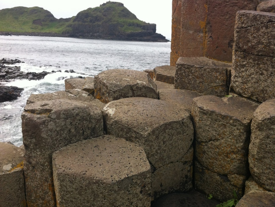 Northern Ireland's Giants Causeway Bushmills  United Kingdom