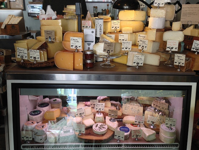 Shop for Local Cheeses and Wines at Little Vine in San Francisco