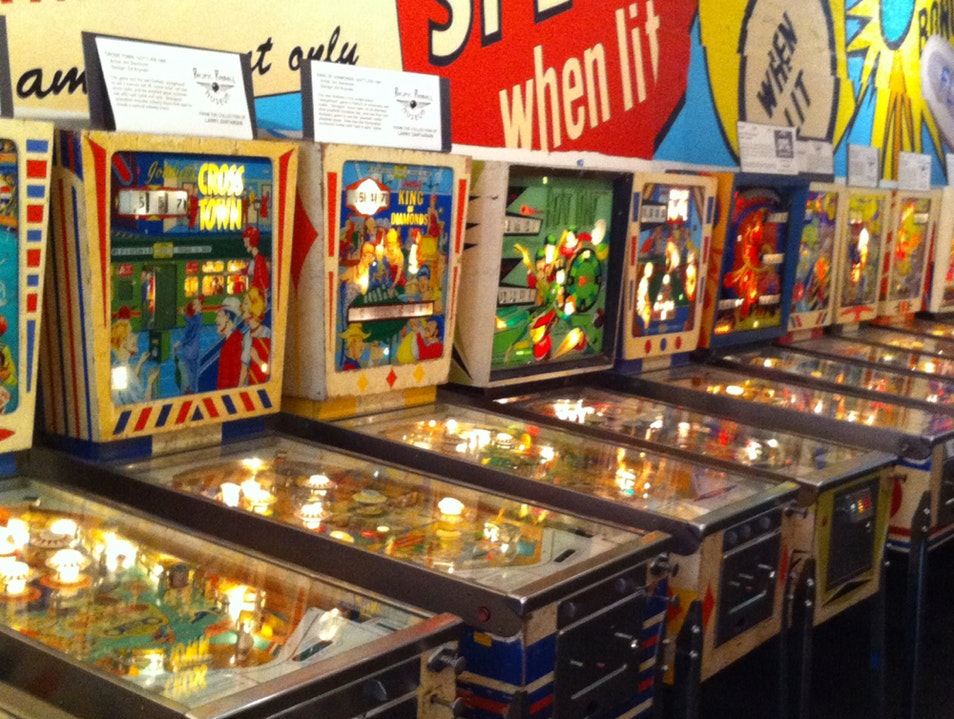 Play At The Pinball Museum Alameda California United States