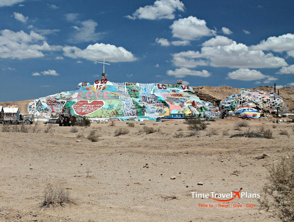 Go Tell it on Salvation Mountain Calipatria California United States