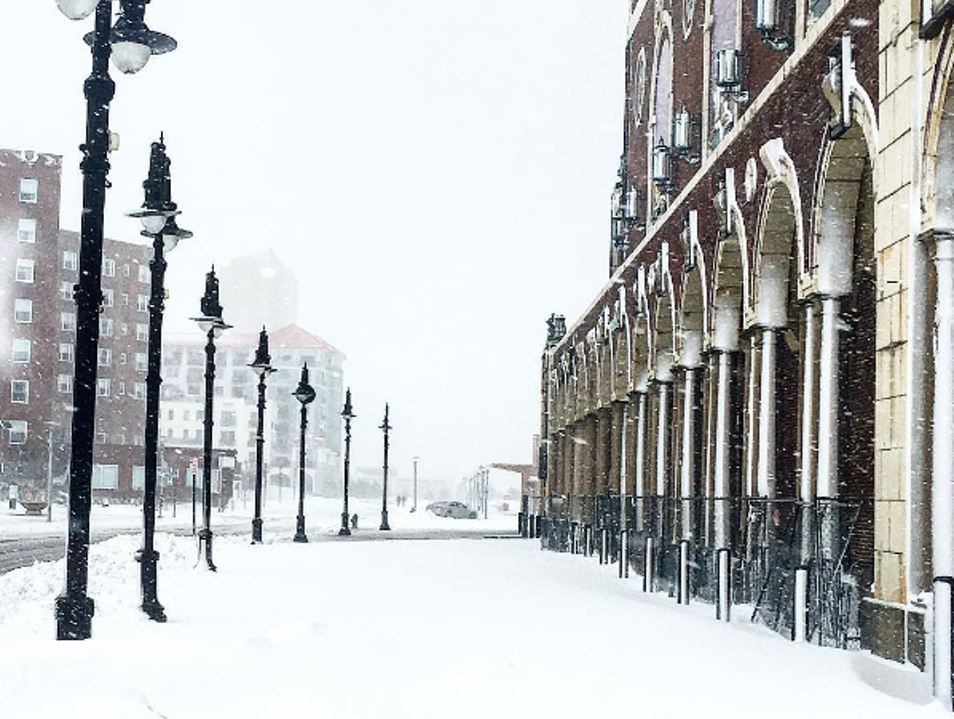 Winter Time In Asbury Park