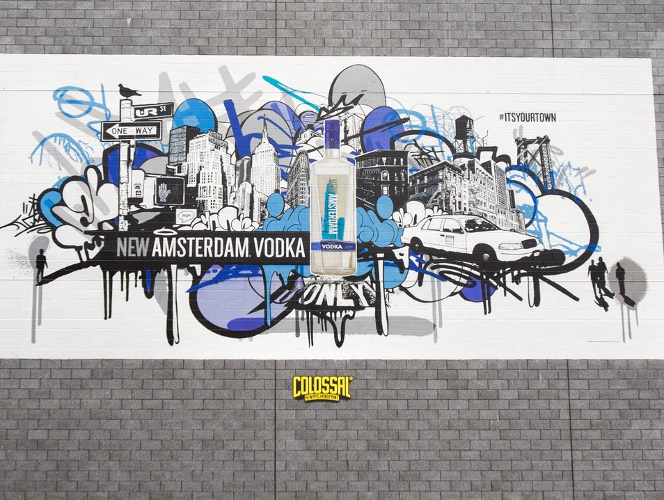 It's Your Town Brings Street Art to Soho