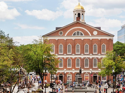 Faneuil Hall Marketplace  Boston Massachusetts United States
