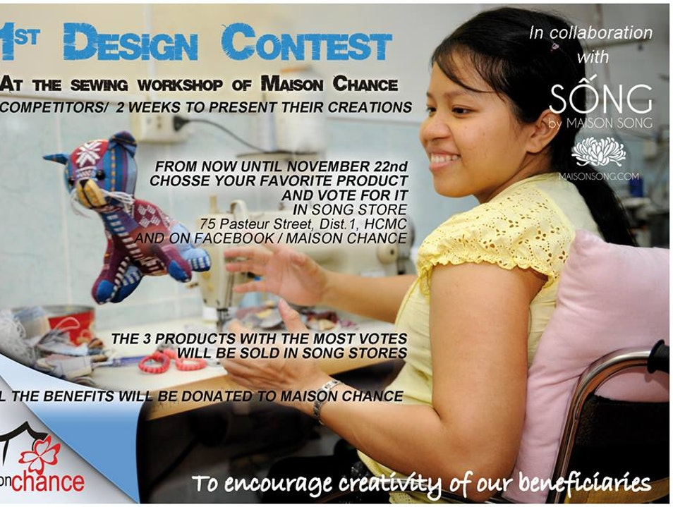 Design Contest at the sewing workshop of Maison Chance