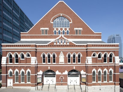 Ryman Auditorium Nashville Tennessee United States