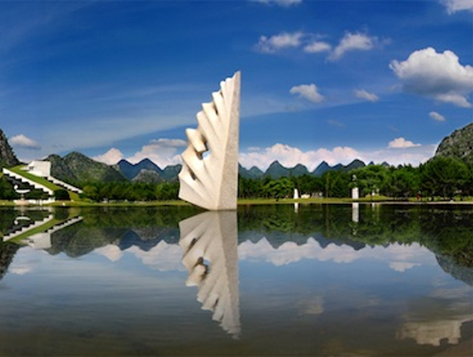 China's Contemporary Art Garden Guilin  China