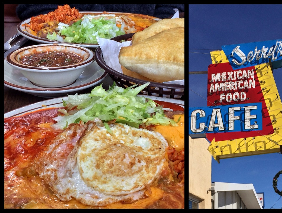 Answer New Mexico's state question at Jerry's Café Gallup New Mexico United States