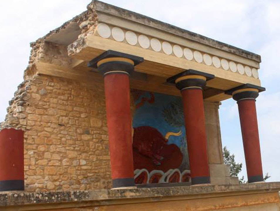 Knossos Iraklio  Greece
