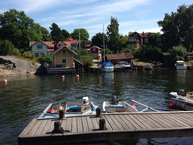 Nearby Vaxholm