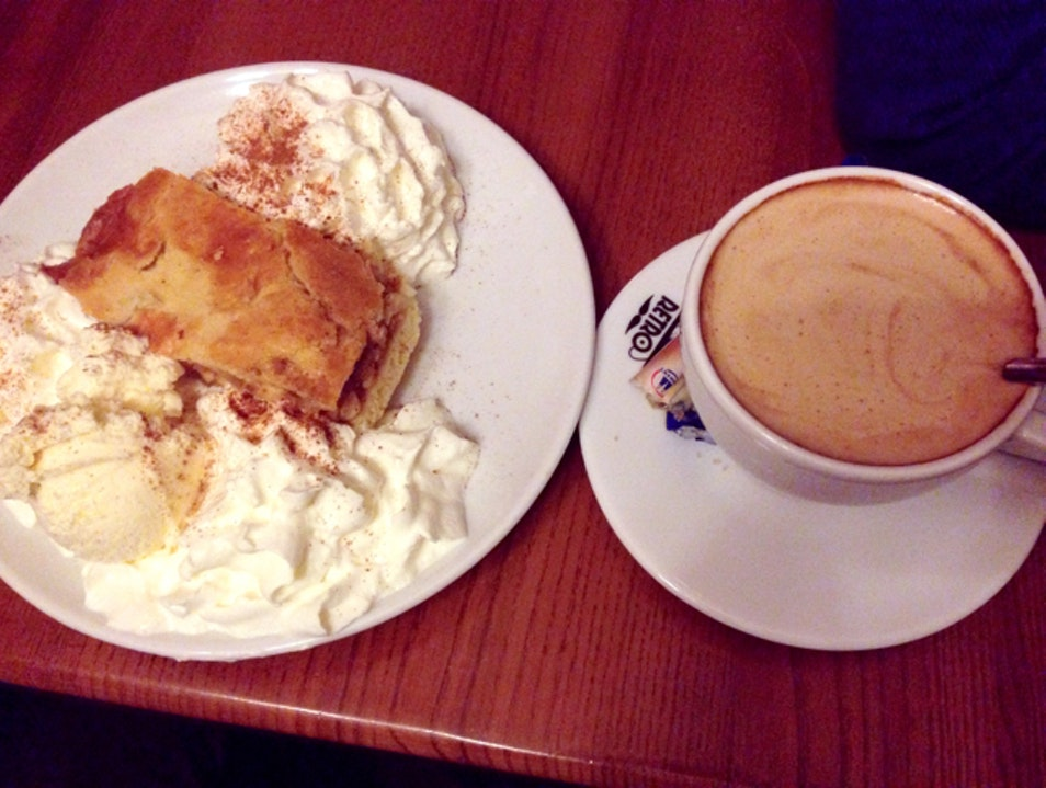 Coffee and Cake at Kawiarnia Retro Gdansk  Poland