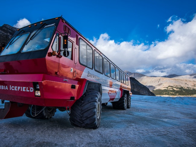 Glacier Discovery at the Icefields