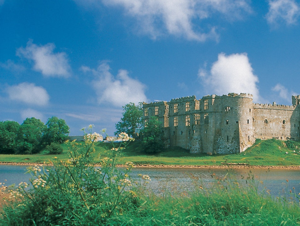 Carew Castle and Tidal Mill Tenby  United Kingdom