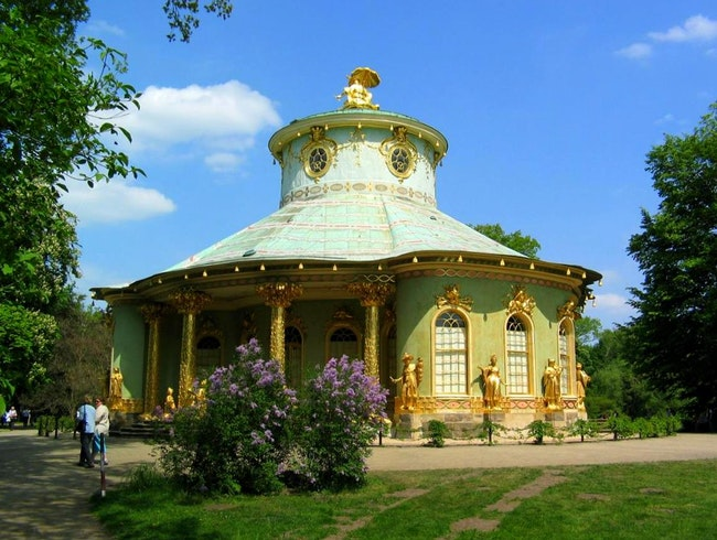 Live the Rococo dream at Potsdam Palace
