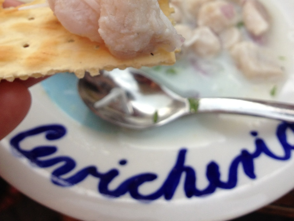 The Freshest Ceviche in Cartagena