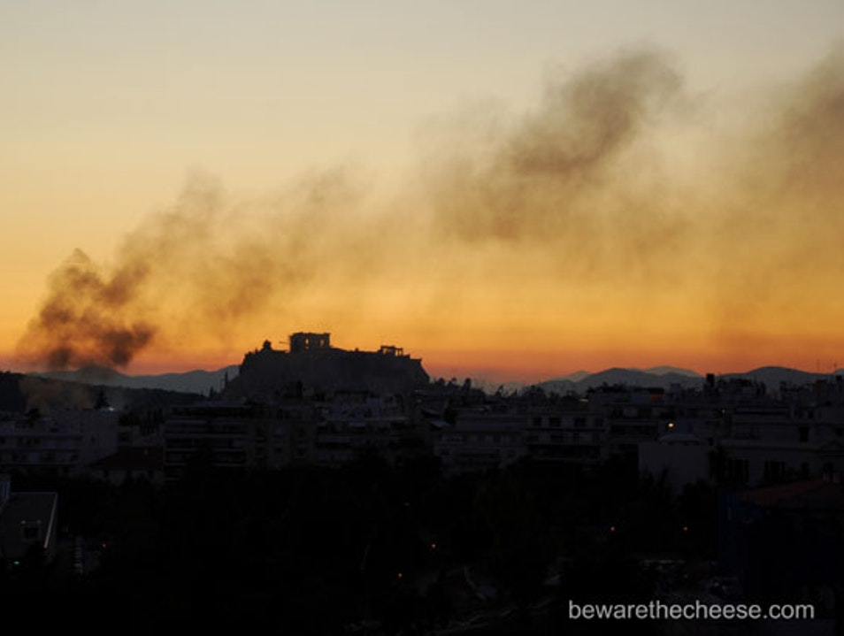 Athens Tips Part 1 - Strikes Not Protests Athens  Greece