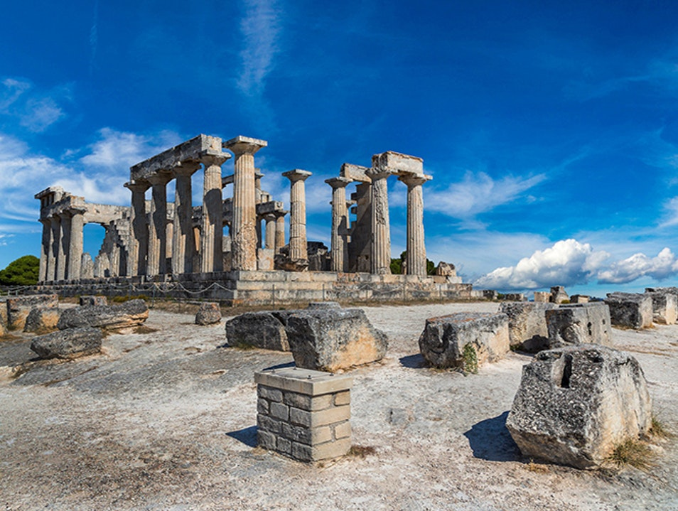 Temple of Aphaia Vathi  Greece