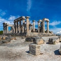 Temple of Aphaea Vathi  Greece