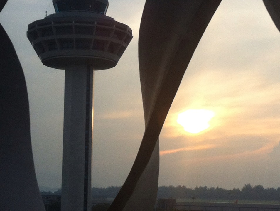 Sunrise At Changi Singapore  Singapore