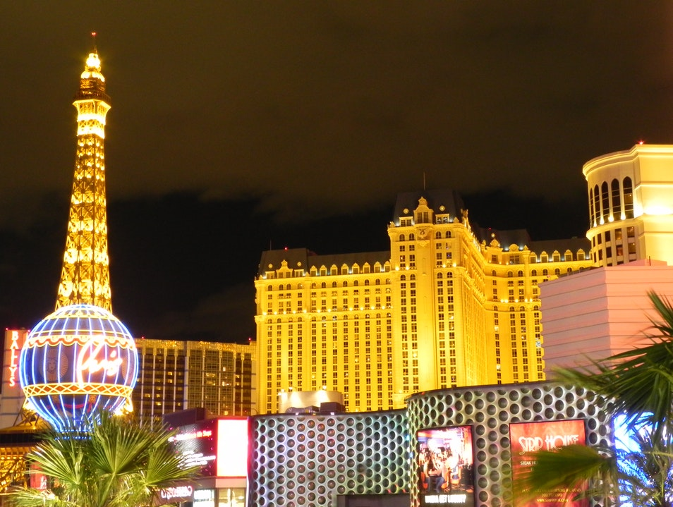 A View from the Other Eiffel Tower Las Vegas Nevada United States