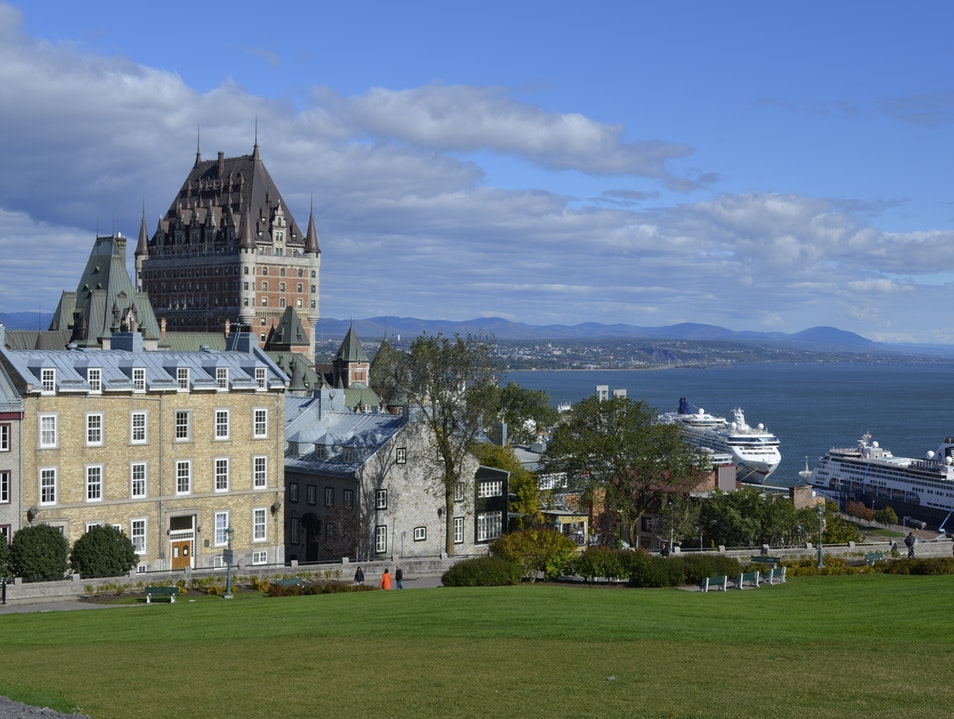 Urban hiking with stunning views Quebec City  Canada