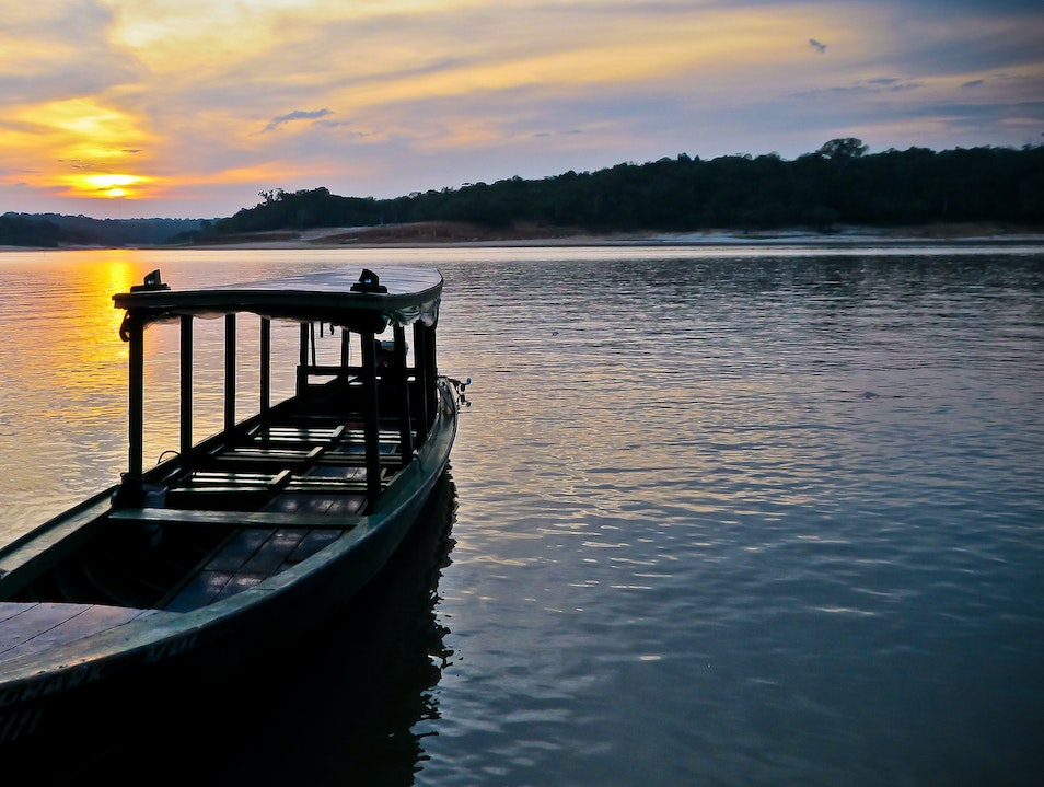 Sunset at the Amazon, Brazil   Brazil