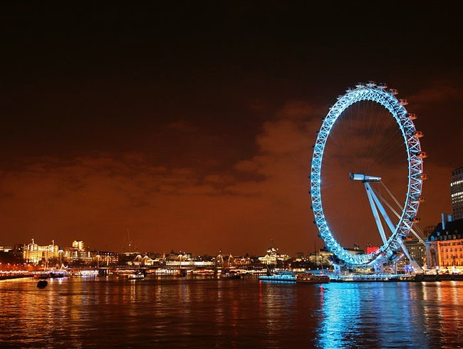 Dine on the London Eye