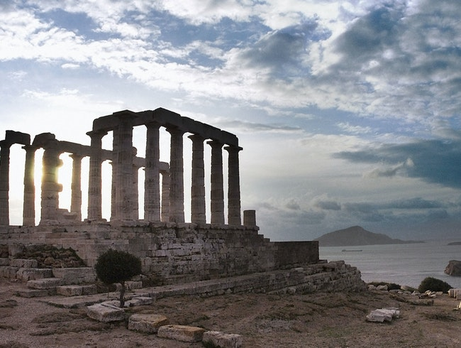 Temple of Poseidon at Sounion