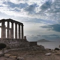 Temple of Poseidon at Sounion Athens  Greece