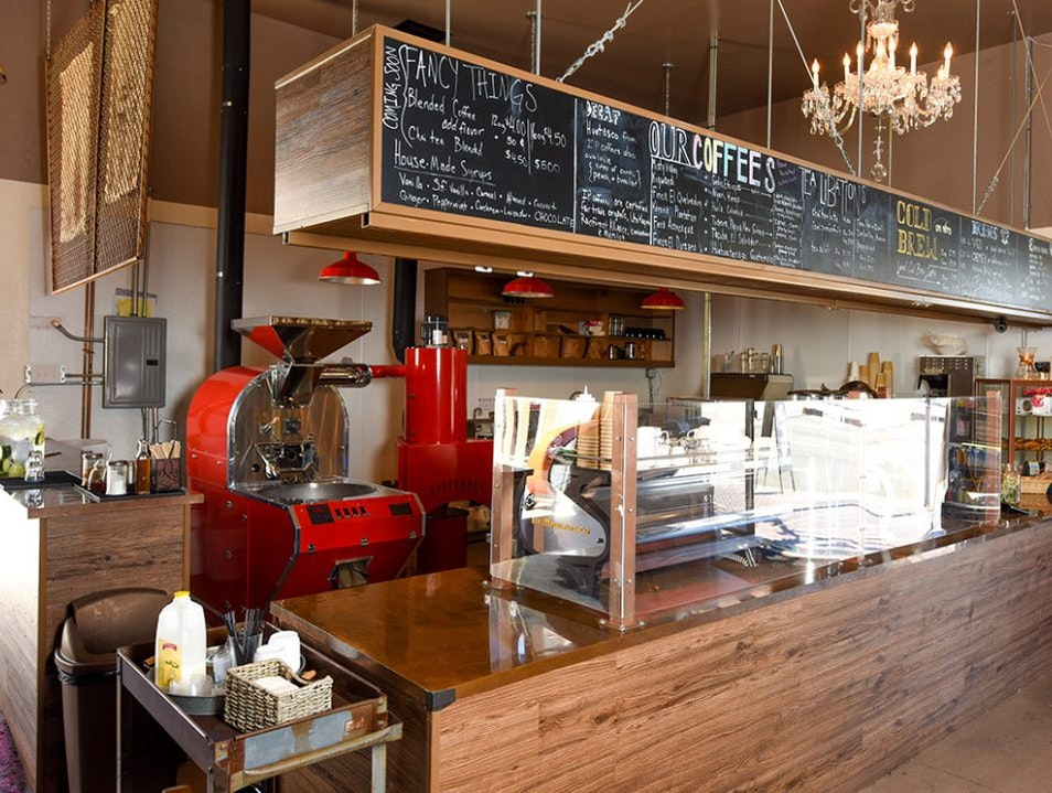 Coffee, Wine or both at Sleeping Tiger Coffees