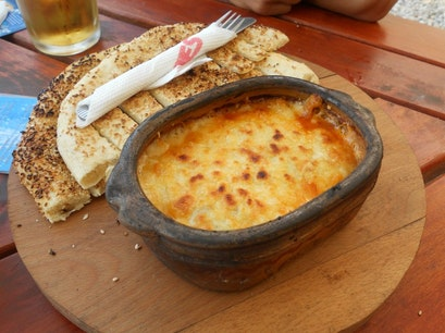 Melted cheese  Bitola  Macedonia (FYROM)