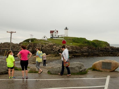 NUBBLE LIGHT / SOHIER PARK York Maine United States
