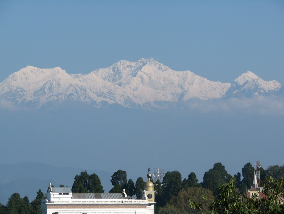 The View In Darjeeling North Sikkim  India